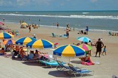 Strandaktivität Stockbild