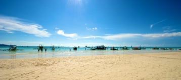 Strandansicht in Boracay Stockfoto