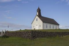 Strandarkirkjakerk in IJsland Royalty-vrije Stock Foto's