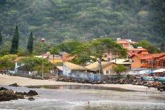 Strandarmacaoarmação, Florianopolis, Brasilien Arkivfoto