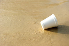 strandavfall Fotografering för Bildbyråer