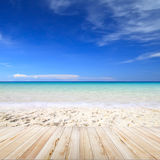 Strandbakgrund Arkivbild