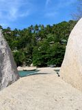 strandbana Arkivbild