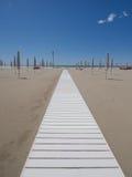 strandbana till Ut ur säsong Royaltyfri Foto