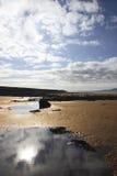 strandbealestigning Fotografering för Bildbyråer