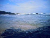 Strandbehållare Arkivfoton