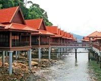 strandberjayalangkawi semesterort Fotografering för Bildbyråer