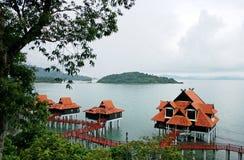 strandberjayalangkawi semesterort Arkivbild