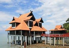 strandberjayalangkawi semesterort Arkivfoton