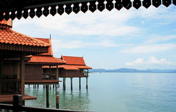 strandberjayalangkawi semesterort Royaltyfri Bild