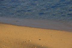 Strandbild för bakgrundsbruk fotografering för bildbyråer