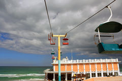 strandboardwalkdaytona Royaltyfri Fotografi