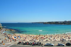 strandbondi sydney Royaltyfri Foto