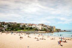 strandbondi sydney Fotografering för Bildbyråer