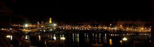 Strandboulevard in Bari stock afbeeldingen