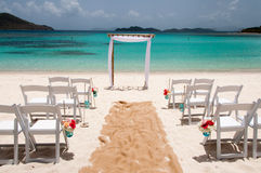 Strandbröllop Royaltyfria Bilder