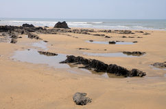 strandbude arkivbild