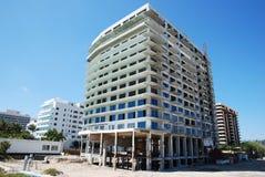 strandbyggnad miami Royaltyfria Foton