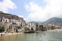 strandbyggnader Arkivbild