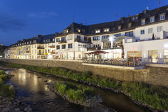 Strandbyggnader i Siegen, Tyskland Royaltyfri Foto
