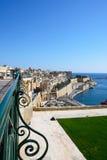 Strandbyggnader, Valletta Arkivbild