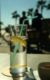strandcafe Fotografering för Bildbyråer