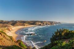 Strandcarrapateira, sommar för att surfa royaltyfri fotografi