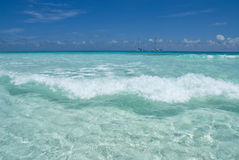 strandclearwave Fotografering för Bildbyråer