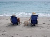 stranddag Fotografering för Bildbyråer