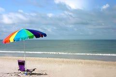 stranddag Arkivfoton