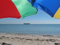 stranddag Royaltyfri Foto
