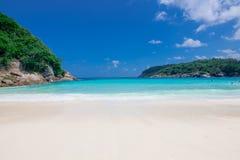 Stranddag på Phuket Thailand Arkivbilder