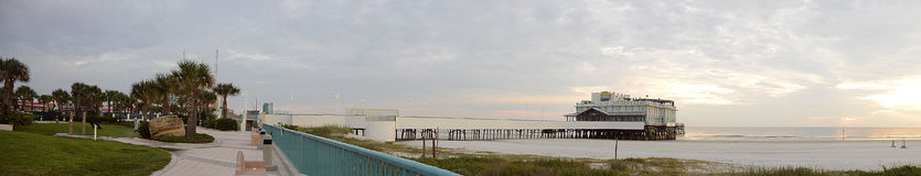 stranddaytona florida Arkivbilder