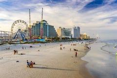 stranddaytona florida royaltyfria bilder
