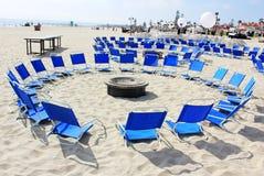stranddeltagare Fotografering för Bildbyråer