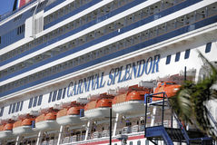 Stranded on Carnival Splendor Royalty Free Stock Photo