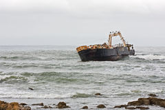 Stranded Ship Stock Images
