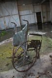 Stranded Wheelchair Royalty Free Stock Photography