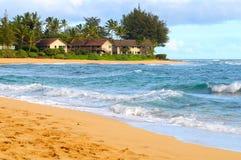 Strandeigentumswohnungen Stockbild