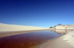 Strandeingang Lizenzfreies Stockfoto