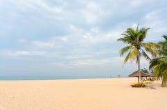 Stranden av Sanya Arkivbilder