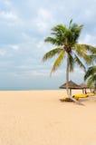 Stranden av Sanya Arkivbild