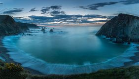 Stranden av tystnad Royaltyfri Foto