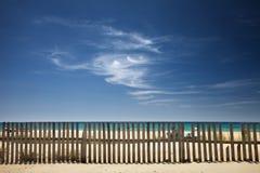 stranden clouds skyen Arkivfoton