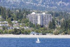 Stranden de West- van Vancouver Stock Fotografie