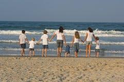 stranden går Royaltyfri Fotografi