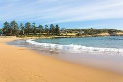 Stranden i södra Austalia Fotografering för Bildbyråer