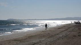 Stranden i sommar lager videofilmer