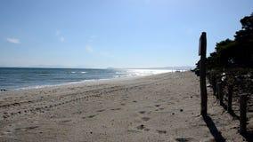 Stranden i sommartid arkivfilmer