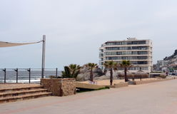 Stranden i Vina Del Mar Fotografering för Bildbyråer